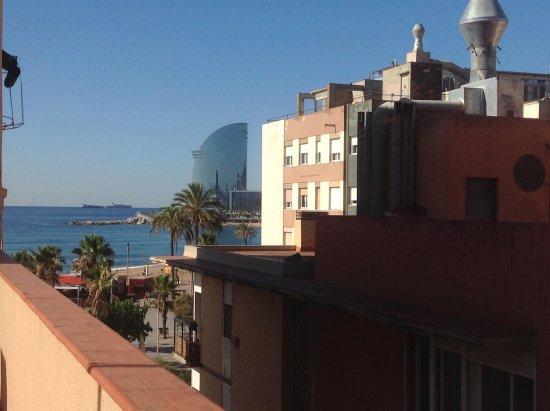 Barceloneta Suites : Terrasse