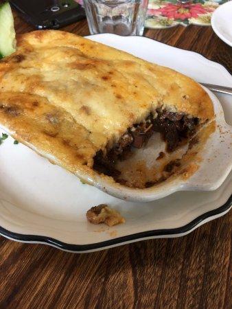 Desert Rose Cafe: Vegetarian Moussaka