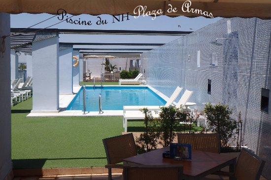 Nh Plaza De Armas Piscine  Photo De Nh Sevilla Plaza De Armas