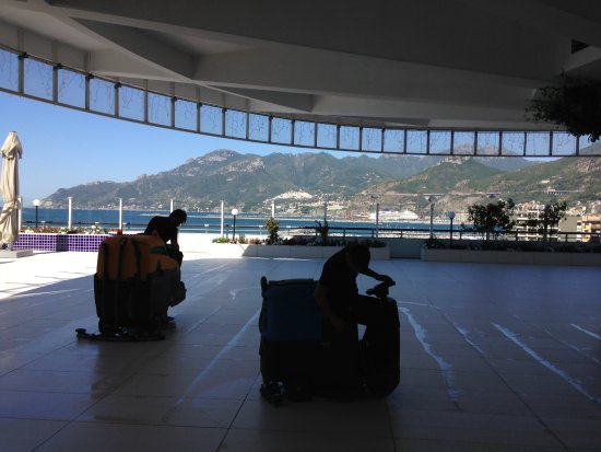 terrazza - Picture of Grand Hotel Salerno, Salerno - TripAdvisor
