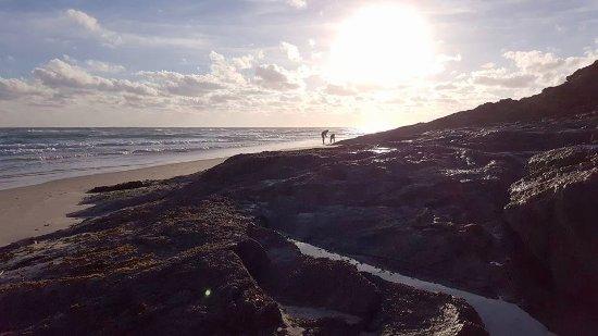 Νησί North Stradbroke, Αυστραλία: Cylinder Beach, Morning View.