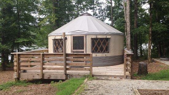 Lithia Springs, GA: This is a yurt...