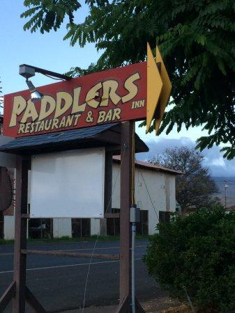 Kaunakakai, HI: If you visit wonderful Molokai definitely have dinner one night at Paddlers.