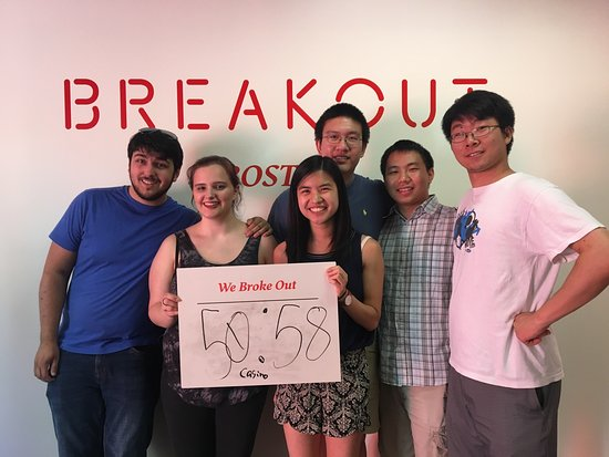 ‪Breakout Games - Boston‬