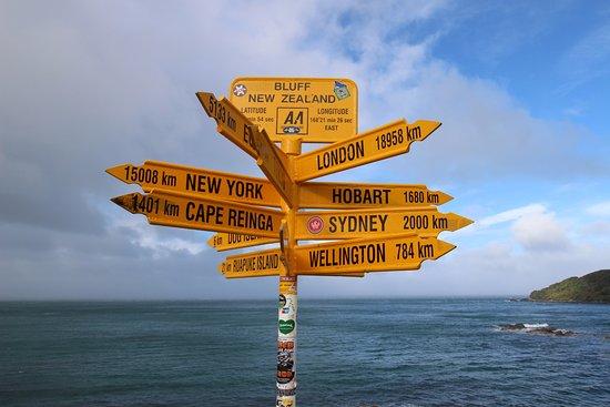 Bluff, Nowa Zelandia: Pour l'image :)