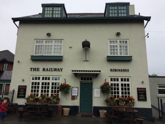Handforth, UK: The Railway