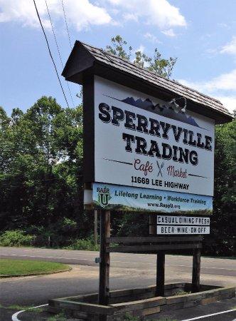 Sperryville, VA: Great sign!
