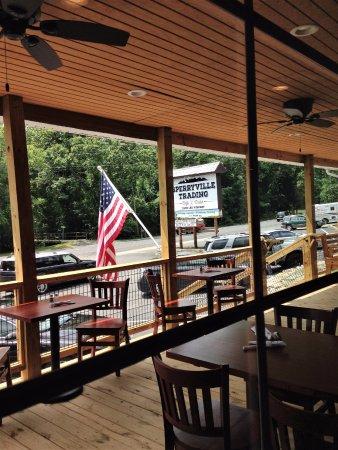 Sperryville, VA: Outdoor seating