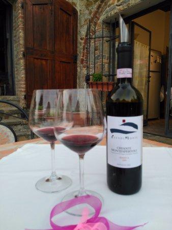 Podere Palazzolo: Vino. Paraiso para los amantes del vino