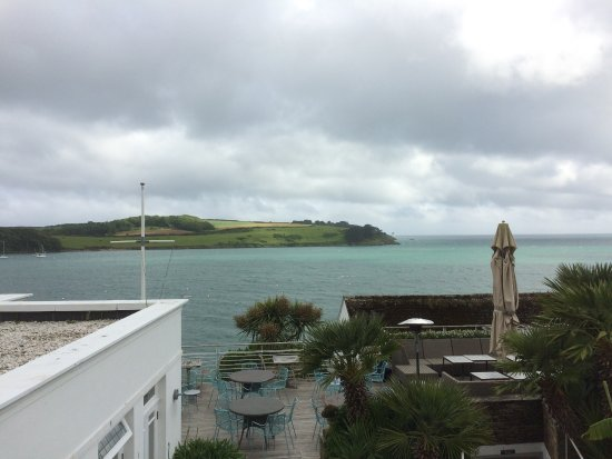St Mawes, UK: St Anthony from the Tresanton room we stayed in.