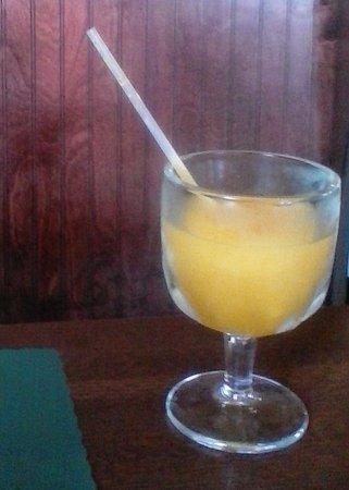 Merrill, WI: Mango lemonade, yum!