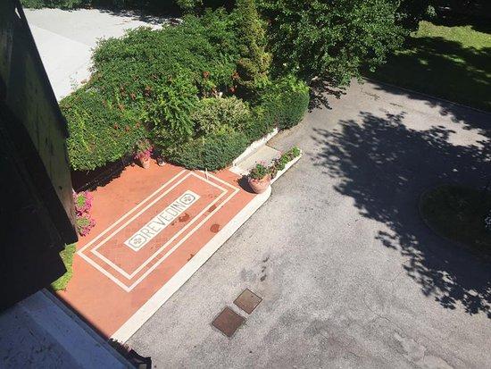 Villa Revedin: Ingresso