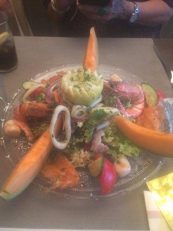 Les Quatre Vents: salade