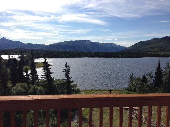 Denali Lakeview Inn: view from room