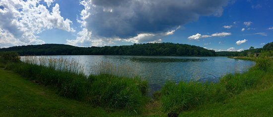 Wyoming, PA: Panorama of the Lake at Francis Slocum State Park July 2017