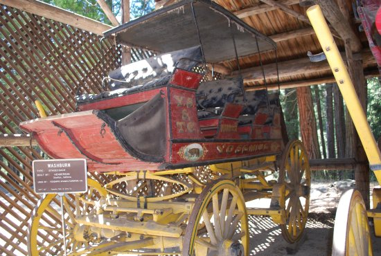 Wawona, Californien: One of several historic carriages