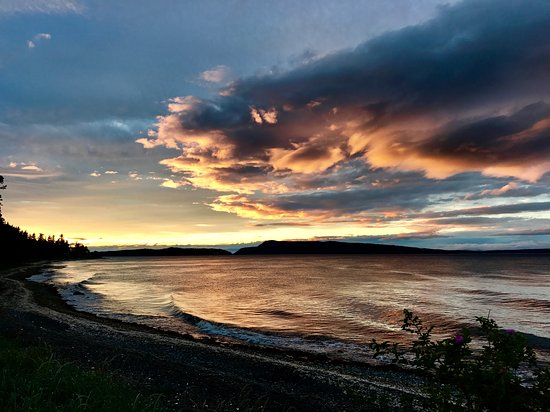 Bowser, Canada: June Sunset at Shady Shores