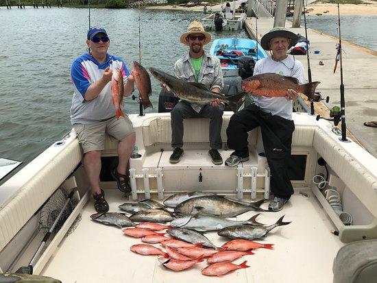 Reel dream fishing charters saint augustine beach all for Fishing charters st augustine
