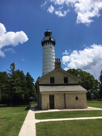 Baileys Harbor, WI: Lighthouse