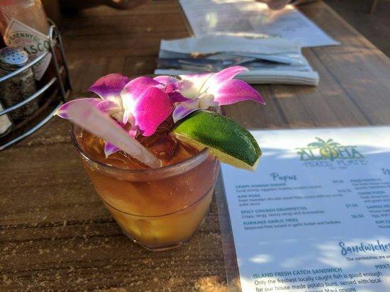 Aloha Mixed Plate: Best Mai Tai on the island!