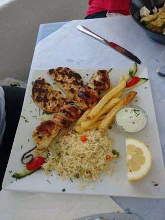 Restaurant Neptune: Chicken Souvlaki