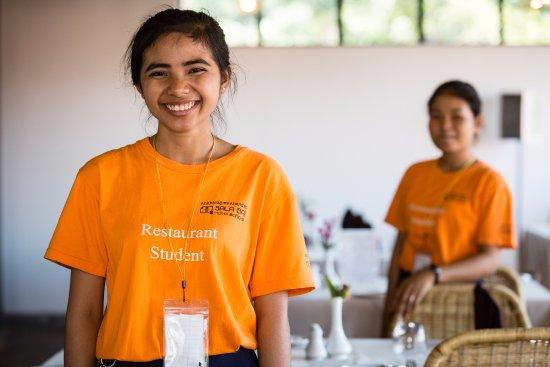 Sala Bai Hotel School: The training restaurant
