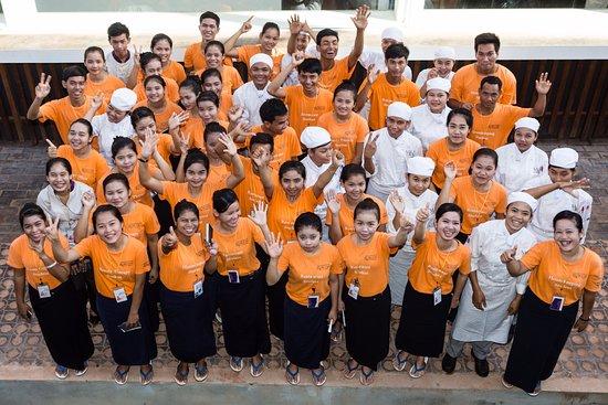 Sala Bai Hotel School: The students
