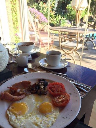 Cape Paradise Lodge and Apartments: cafe da manha
