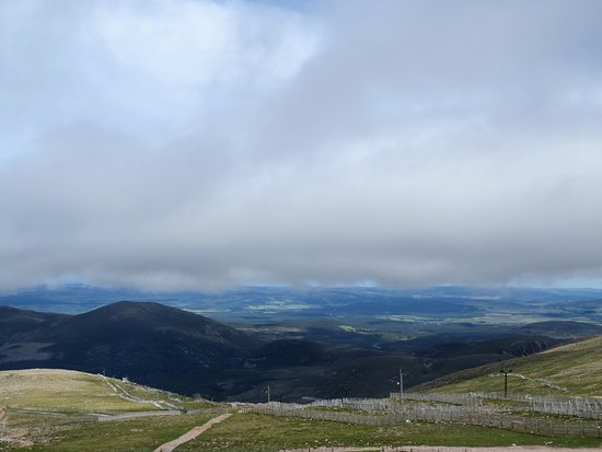 Aviemore, UK: View from the top
