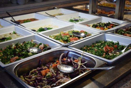 Arabisk buffet, hjemmelavet af friske råvare - Billede af Det Arabiske Kokken, Esbjerg - TripAdvisor