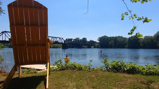 Milton, PA: Glorious views and awesome kayaks!