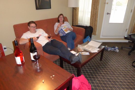 Robson Suites: hanging out