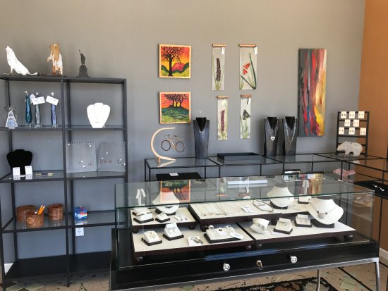 Martinsville, IN: We have unique, handcrafted high end products from over 20 individual artists.