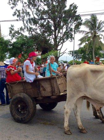 Tilarán, Costa Rica: Oxcart festival