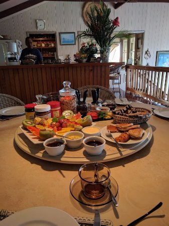 Levuka Homestay: Breakfast- with smoothies and eggs to follow!
