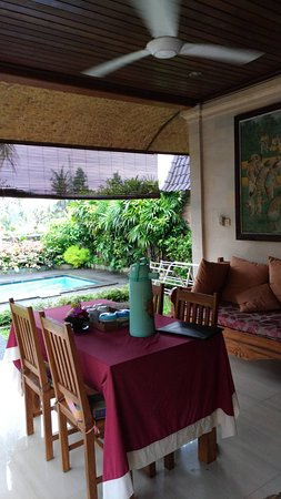 Bali Breeze Bungalows: A big fan to chill