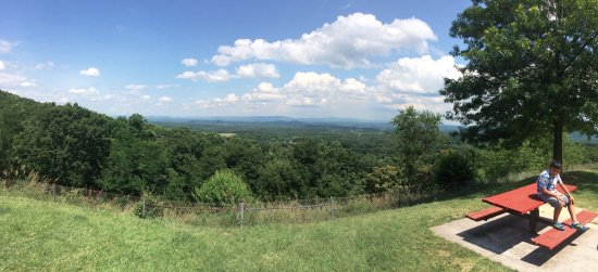 Hancock, MD: View at Sideling Hill Welcome Center