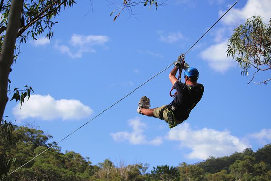 North Tamborine, Australia: Canyon Flyer Zipline Tour