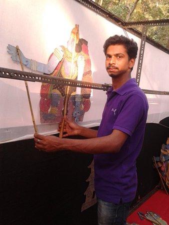 Shoranur, Indien: THOLPAVAKOOTHU