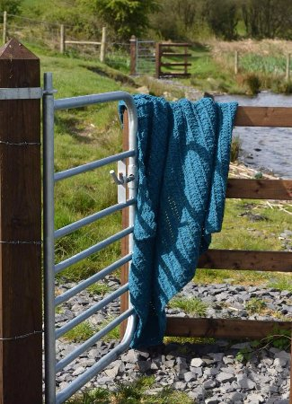 Lurgan, UK: Handmade throw in Northern Ireland by The Art Of Lise