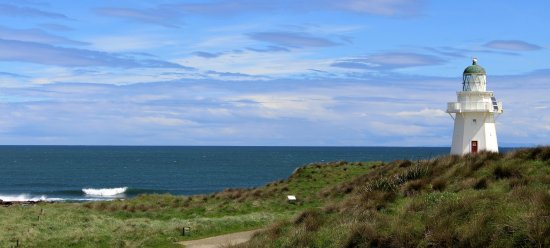Southland Region, Nouvelle-Zélande : Waipapa Point - 30 Minute Drive from Lazy Dolphin
