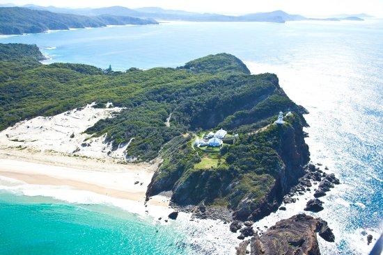 Seal Rocks, Avustralya: Sugarloaf Point lighthouse keepers' cottages