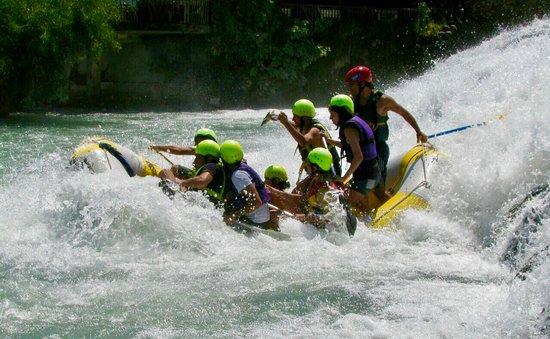 Hermel, Líbano: Rafting