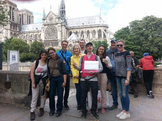Discover Walks : The end of the Notre Same tour