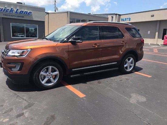 Red Lobster My New Ride A 2017 Ford Explorer The Color Is Canyon Ridge