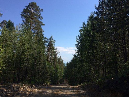 Ust-Barguzin, Russia: Залив Култук, Баргузинский залив и дорога к пос. Катунь