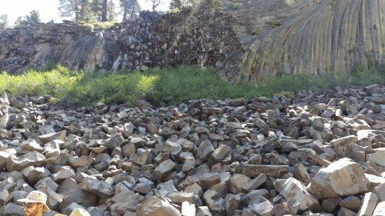 Devils Postpile National Monument: Rocks