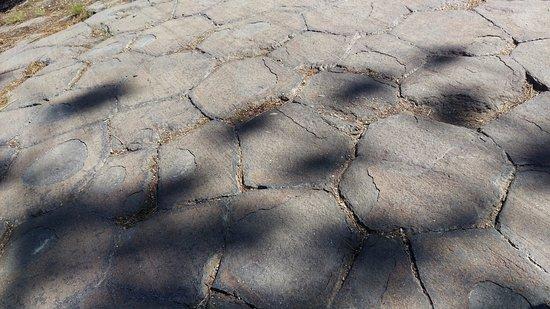 Devils Postpile National Monument: Lava formations