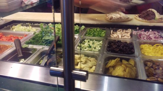 The Pita Pit: Selections
