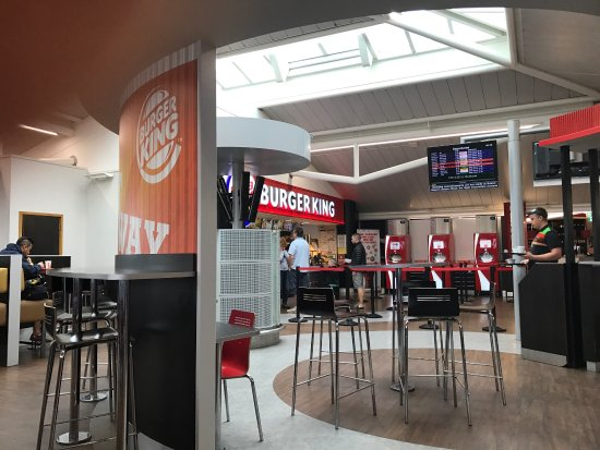 Lulsgate, UK: Burger King Bristol International Airport